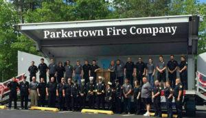 Parkertown Fire Department Volunteers